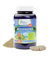 Resveratrol + Polygonum Cuspidatum Root Extract 1500MG MAX Strength 180 Capsules