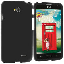 For LG Optimus Exceed 2 L70 Hard Cover Case Accessory Black