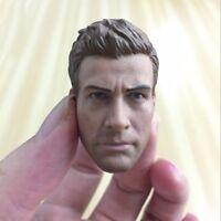 """1/6 Scale Jake Gyllenhaal Head Sculpt Model For 12"""" Male Figure Muscle Body Toys"""