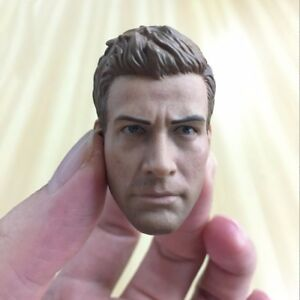 "Jake Gyllenhaal 1/6 Scale Head Sculpt Male Model For 12"" Figure Body Hot Toys"