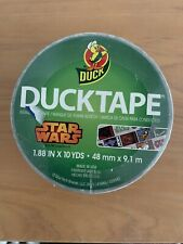 NEW Star Wars Duct Duck Tape WHITE Unsealed 10 Yards RARE