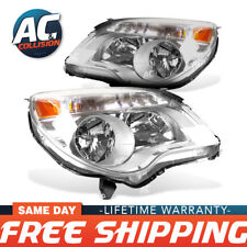 Headlight Assembly Passenger and Driver Sides for 2010 - 2015 Chevrolet Equinox