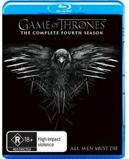 Game Of Thrones Season 4 (Blu-ray, 2015, 5-Disc Set) BRAND NEW UNSEALED