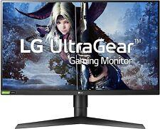 LG 27GL83A-B 27 Inch Ultragear QHD IPS 1ms 144hz Gaming Monitor (Nvidia GSYNC)
