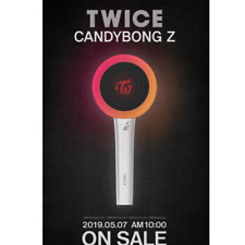 [TWICE CANDY BONG Z] Official Twice New Light Stick Package+Strap+Case