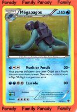 Mégapagos 140pv 28/101 Noir & Blanc Explosion Plasma Carte Pokemon Rare neuve fr
