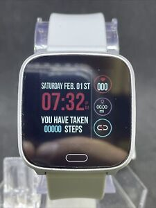Timex Iconnect Silver Digital Fitness Watch #24