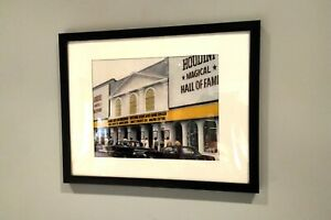 Framed color photo of Houdini Magical Hall of Fame Niagara Falls
