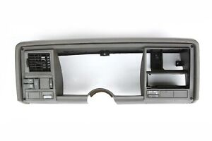 88-94 Chevy GMC Truck 1500 Silverado Tahoe Dash Bezel Trim Gray on Gray OEM