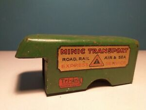 TRI-ANG MINIC BODY FOR CLOCKWORK DELIVERY VAN, c1938-