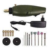 Mini ensemble d'accessoires de perceuse electrique 12V DC outil de broyeur O2V2