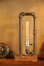 Industrial Lighting Steampunk Lamp Table Lamp Edison Light Vintage Pipe Light