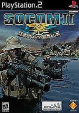 PS2 *COMPLETE* SOCOM 2 II: US NAVY SEALS