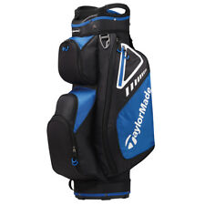 TaylorMade Select LX Cart Bag - Black/blue