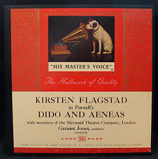 KIRSTEN FLAGSTAD-DIDO AND AENEAS-Near Mint Album-1951 Box Set-RCA VICTOR