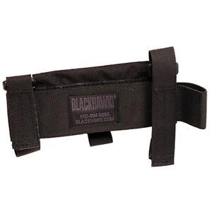 Blackhawk Buttstock Shotgun 5 Shell Holder Pouch Nylon Black Ambi 52BS02BK