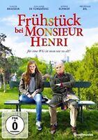 FRÜHSTÜCK BEI MONSIEUR HENRI   DVD NEU  CLAUDE BRASSEUR/NOÉMIE SCHMIDT/+