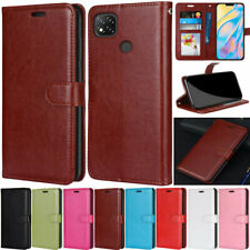 Slim Wallet Leather Flip Case Cover For Xiaomi Poco X3 NFC Redmi Note 9S 9 9A 9C