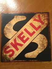 Tin Sign Vintage Skelly Gas Oil Rustic