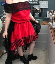 Saloon girl fancy dress outfit.