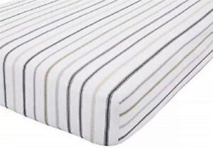 Catherine Lansfield Luxury So Soft Brushed Cotton Striped Fitted Sheet King Size