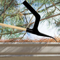 Home Garden Gutter Cleaning Tool Downspout Screen Debris Scoop Roof Cleaner
