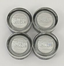 Maybelline Color 24Hr Tattoo Eye Shadow Cream Gel 05 Too Cool Lot of 4