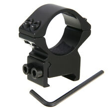 "25.4mm 1"" Ring Weaver Picatinny 20mm Rail Mount For Rifle Scope&Flashlight Black"