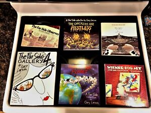 6 Far Side Collection Books New!