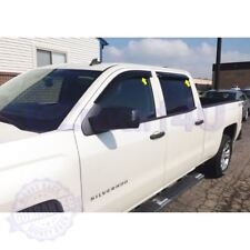 Fit 2014-2017 GMC Sierra 1500 / 2015-17 Sierra 2500/3500 Rain Guard Window Visor