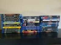 Lot of 9 Blu Ray Mixed Movie Collection John Wick, Jet Li, The Martian & MORE