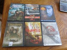 Lot of 6 Movies all with original cases.See list
