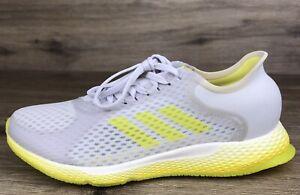 Adidas Focus Breathein Running Shoes Grey Yellow White EG1096 Women's Size US-6
