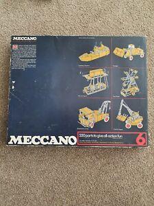 Meccano set no 6