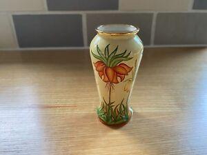Moorcroft Enamel vase