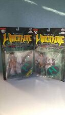 Lot of 2 Moore Witchblade Action Figures (Sara Pezzini and Nottingham)