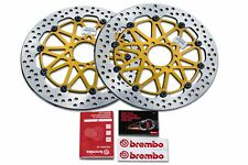 Pair of Ducati Monster S4 916 320mm Brembo SuperSport HPK Front Discs- 208973710