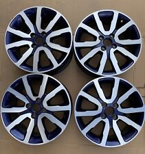 """Jantes Renault Twingo 3  en bleu """" Embleme """" en 16 pouce (neuve jamais servi )"""
