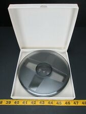 "Empty Film Reel 7"" Diameter Gray Projector Accessories Plastic New GS"