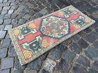 Vintage Turkish small rug, Handmade wool rug, Doormats, Decor rug | 1,6 x 3,2 ft
