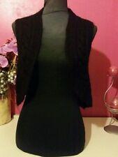 Gilet**  CAROLL   * Taille  2/3 * couleur noir  TBE