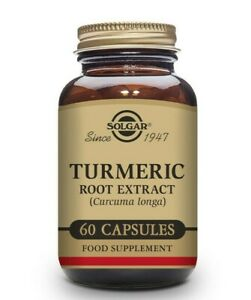 Solgar Turmeric Root Extract Vegetable Capsules Pack of 60 Antioxidant benefits