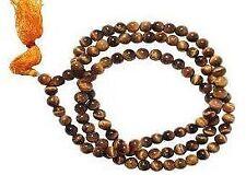 6MM Tiger Eye Mala, Tiger Eye Rosary, Tiger Stone Rosary, A++ QUALITY -A