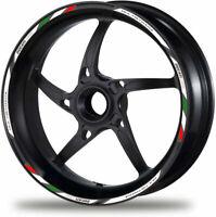 Multistrada 950 Corse Motorcycle Wheel Decal Rim Stickers Stripe White Ducati