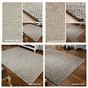 LARGE MODERN RUGS,THICK,DURABLE,SUPER SOFT,ADD WARMTH & COMFORT, NEUTRAL COLOURS