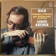 6769 053 Bach Sonatas & Partitas / Gidon Kremer 3 LP box set