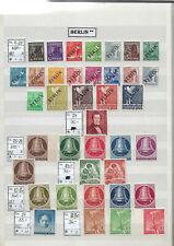 BERLIN Sammlung ** postfrisch ab Mi. 1 - ab 1955 komplett