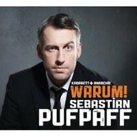 """SEBASTIAN PUFPAFF """"WARUM! """" CD HÖRBUCH NEU"""