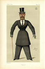BRITISH PEER LORD SUFFIELD FIFTH BARON HORSEMAN FOX HUNTING RIDER CARICATURE