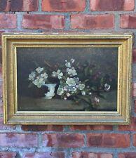 Circa 1890 Oil Painting. Alice G Sheldon. Yankton College/ Topeka Kansas Artist